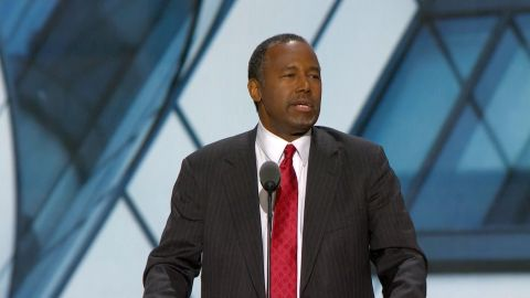 Dr. Ben Carson speaks at the 2016 Republican National Convention