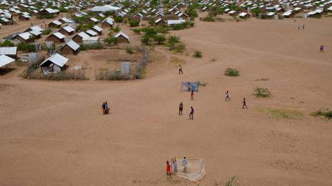 Kakuma refugee camp.