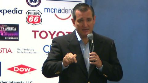 Sen. Ted Cruz is expected to speak at the Texas delegation breakfast event at Marriot Key Center in Cleveland, OH at 8:45aET.