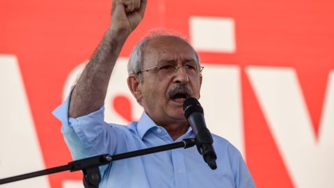 """""""We are all together in Taksim today,"""" Kemal Kilicdaroglu, leader of the opposition, told supporters. """"Today is a day we made history all together,"""""""