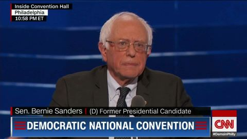 dnc convention bernie sanders election disappointment american future sot_00005118.jpg