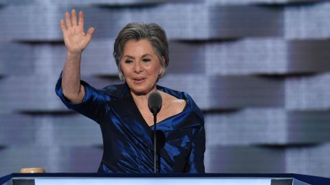 US Senator Barbara Boxer at the 2016 Democratic Convention.