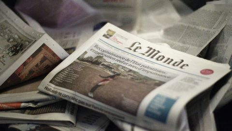 Le Monde is one of several French media outlets that will no longer publish photographs of terrorists.