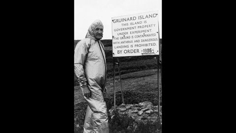 Anthrax emerged as a biological weapon in Europe in World War I. Japan began producing the bacteria for use as a weapon in the 1930s. The United States experimented with biologic agents such as anthrax during World War II, and the United Kingdom held field trials of anthrax-laden munitions on a small Scottish island called Gruinard. The island was then sealed off to the public for almost 45 years.