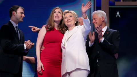Chelsea Clinton has grown up before the nation and is now embracing a prominent role in her mother's presidential campaign. She introduced Hillary Clinton at the Democratic National Convention on Thursday, July 28.