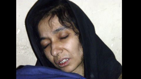 """Pakistani neuroscientist Aafia Siddiqui was extradited to the United States in 2008. Two years later,<a href=""""http://www.cnn.com/2010/CRIME/02/03/siddiqui.trial/"""" target=""""_blank""""> she was convicted of attempting to kill Americans in Afghanistan</a> and sentenced to 86 years in prison. Prosecutors said Siddiqui shot at FBI agents and military officials while she was being held at an Afghan facility."""