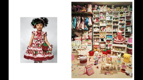"""A world of poverty and privilege is portrayed in <a href=""""http://jamesmollison.com/books/where-children-sleep/"""" target=""""_blank"""" target=""""_blank"""">""""Where Children Sleep,""""</a> a photo series by James Mollison, which depicts children's bedrooms around the world. Pictured is 4-year-old Kaya, who lives in a small apartment with her parents in Tokyo."""