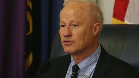 Chairman Mike Coffman (R-CO) speaks during a House Veterans Affairs Subcommittee hearing on April 13, 2014 in Washington, DC.
