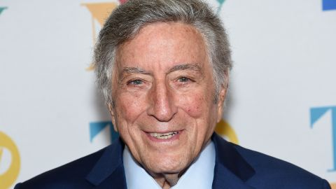 NEW YORK, NY - AUGUST 03:  Music legend Tony Bennett arrives for his 90th birthday celebration at the at The Rainbow Room on August 3, 2016, in New York.  (Photo by Jamie McCarthy/Getty Images for RPM)
