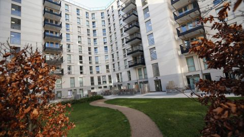 The former athletes' village has been converted into housing, with a total of 8,000 homes being built around the park.