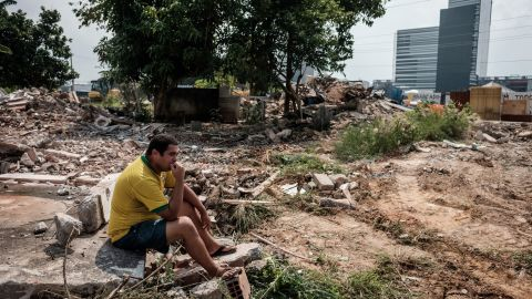 This has continued in Rio with the often violent clearance of favela towns.