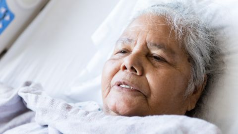 Rosenda Esquivel, 80, was admitted to Zuckerberg San Francisco General Hospital with intense arthritic pain.
