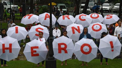 """Former congressman Walden Bello compared interring Marcos in the cemetery as akin to """"burying Al Capone in Arlington National Cemetery"""" — although he added: """"Marcos was worse."""""""