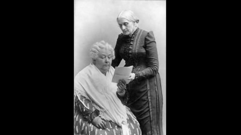 """Elizabeth Cady Stanton and Susan B Anthony, were life long friends and social reformers who campaigned for the abolition of slavery. equal rights for woman, including the vote. Stanton organized the Seneca Falls Convention in 1848, which is considered the first convention for women's rights. In 1878, Anthony and Stanton arranged to have Senator Aaron A. Sargent present Congress a Constitutional amendment that would give women the right to vote. 42 years later the """"Anthony Amendment"""" as it was known became the 19th Amendment to the Constitution."""