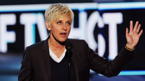 """Ellen DeGeneres is currently best known as one of the best -- and nicest! -- things to happen to daytime TV in a very long while. But before she was holding down a talk show Oprah-style, DeGeneres was a stand-up star who took her approachable comedy to TV with the sitcom """"Ellen"""" in the mid-90s. It was during her tenure on that show that DeGeneres made history, coming out as a lesbian in real life as well as in her sitcom."""