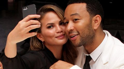 Chrissy Teigen and John Legend are too cute.