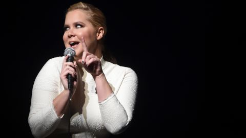 Comedian Amy Schumer performing in 2015 in New York City.
