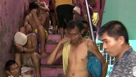 Philippine jail Watson Stevens NewsStream segment_00022913.jpg