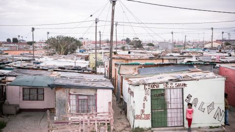 Fire spreads quickly in townships like Khayelitsha because the densely-packed houses are often made of cardboard, wood, and corrugated tin. Narrow alleyways also mean homes are difficult for fire services to access.
