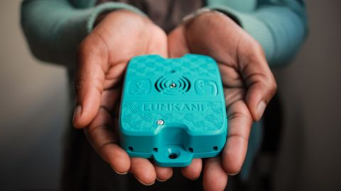Lumkani is a fire alarm designed especially for informal settlements.