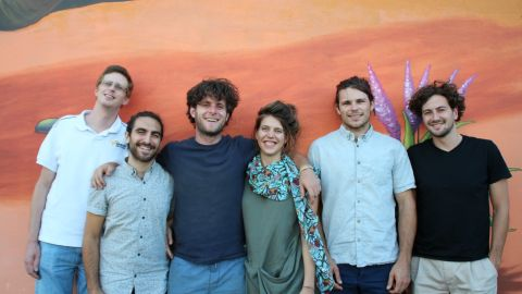 Lumkani co-founders Samuel Ginsberg, Francois Petousis, Paul Mesarcik, Emily Vining, Max Basler and David Gluckman.