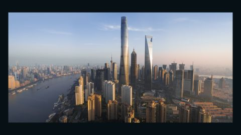 Shanghai's ever-growing skyline is a symbol of China's status as a burgeoning global power. London continues to build upwards in an attempt to keep up with new global powers.