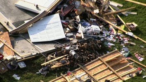 indiana tornado damage