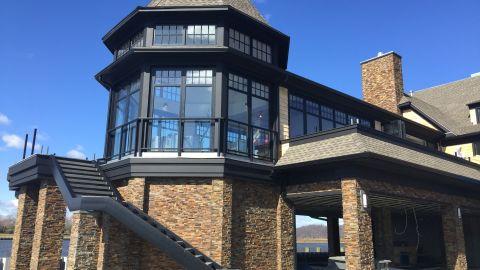 McLoone's Rum Runner restaurant was rebuilt 14 feet taller after Sandy.