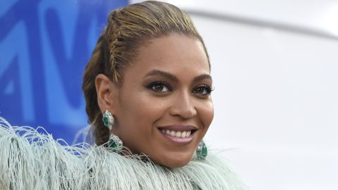Beyonce arrives at the MTV Video Music Awards at Madison Square Garden on Sunday, Aug. 28, 2016, in New York. (Photo by Chris Pizzello/Invision/AP)