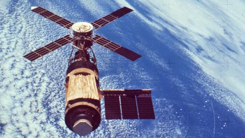 NASA developed insulation material for Skylab after it lost a heat shield at launch.