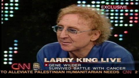 larry king live gene wilder intv love acting hate show business sot _00003021.jpg