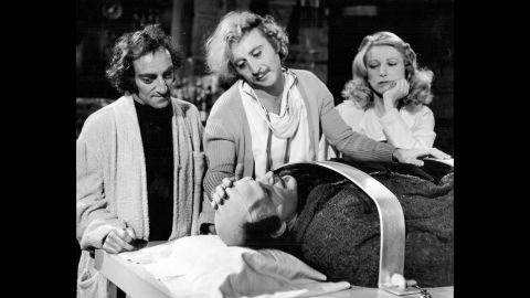 """Another Brooks-directed film, """"Young Frankenstein,"""" became one of Wilder's most famous. Wilder played Dr. Frederick Frankenstein, grandson of the legendary Dr. Victor Frankenstein, in a parody of classic horror movies."""