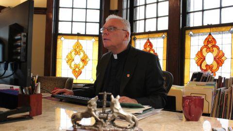 Father Michael Garanzini named the college after Pedro Arrupe, a Jesuit priest.