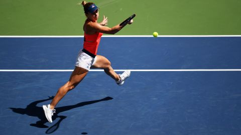 Known for her footwork and ball-striking, Simona Halep has added more power to her serve.