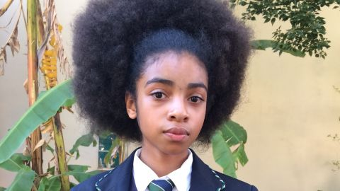 Zulaikha Patel, 13, has been at the forefront of the Pretoria Girls' High protests against racism.