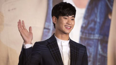 """South Korean drama """"My Love from the Star,"""" starring Kim Soo-Hyun (pictured), was hugely popular in China."""