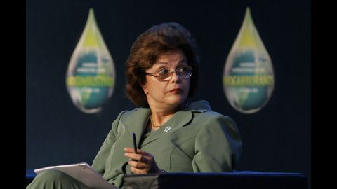 As former president Luiz Inacio Lula da Silva's chief of staff, Rousseff took on several high-profile roles. She announced the discovery of Brazil's pre-salt oil reserves, which would have made the country self-sustainable and could have produced up to 100 billion barrels of oil. But the reserve, discovered in 2009, still remains untapped.