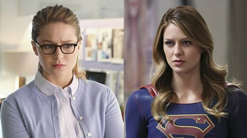 Superman's cousin Kara Zor-El has similar Kryptonian gifts and is inspired to use her powers to protect National City as Supergirl. Like Clark Kent, she uses a pair of glasses to obscure her identity during the day as an assistant to the head of a media conglomerate.