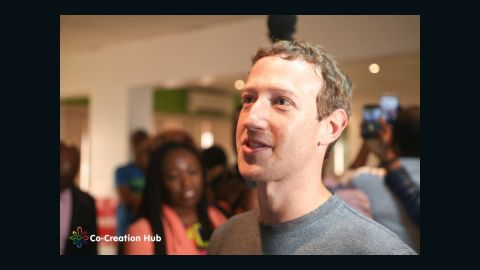 Mark Zuckerberg in Lagos August 2016