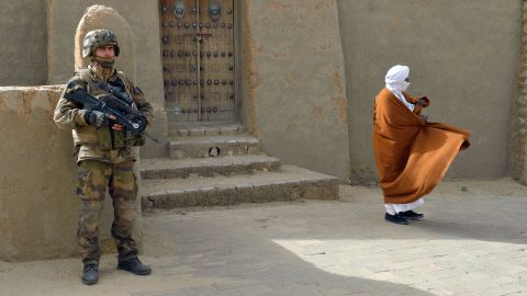 French-led forces liberated Timbuktu in January 2013, but citizens inherited a collection of vandalized monuments at the UNESCO World Heritage Site. UNESCO helped restore the city's historic mausoleums and other monuments deemed idolatrous during the militant occupation.