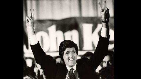 On November 6, 1984, Kerry is elected a US Senator from Massachusetts.  He would remain in the Senate until succeeding Hillary Clinton as secretary of state in 2013.