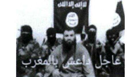 An image investigators pulled from Tabaouni's phone of suspected ISIS fighters