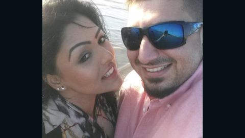 Samia Shahid and her second husband, Syed Mukhtar Kazam, had lived in Dubai for 16 months before her death.