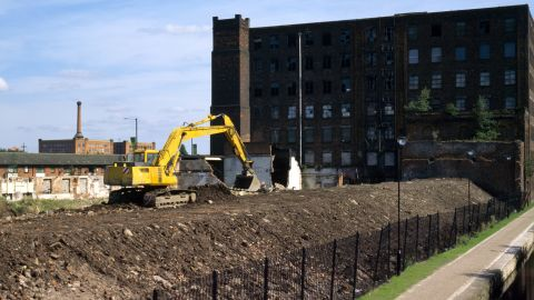 """""""East Manchester was all industrial, and therefore the ideal location for regeneration,"""" Stemp tells CNN."""