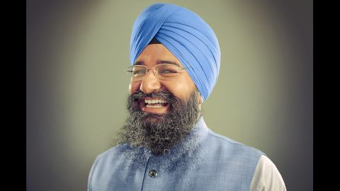 Raghuvinder Singh travels from his home in New Jersey to Oak Creek, Wisconsin, every week to see his father, Punjab Singh, who was shot in the face in the 2012 mass shooting there. Punjab Singh remains paralyzed and communicates through blinking his eyes.