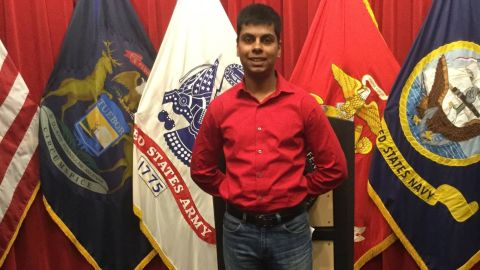 Marine recruit Raheel Siddiqui died in March after leaping from a stairwell during basic training.