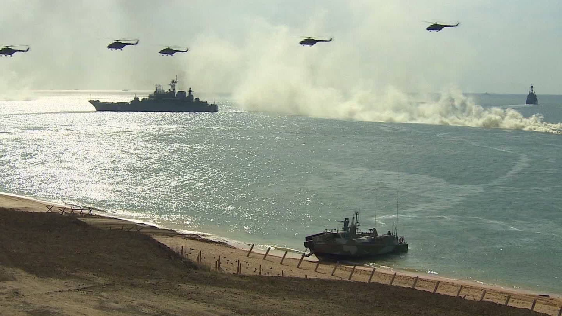 Russia Conducts Military Drills in Show of Strength to the West