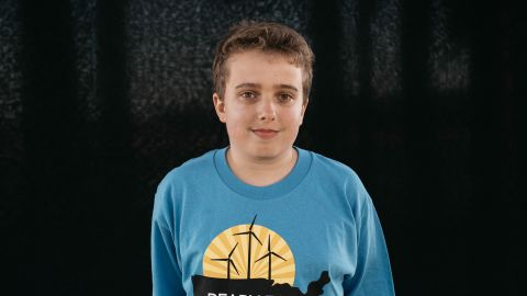 """""""I chose to join the case because it sounded like something I could actually do,"""" said Nick Venner, photographed in 2016 at age 15, from Lakewood, Colorado. """"I think we have a really good chance of winning. It's hard for legal experts to deny the rights of young people. We are the future. They will be long gone before the long-term effects (of climate change) ever hit them. It's about my kids. It's about their grandkids."""""""