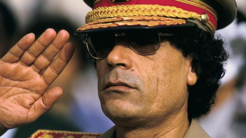Moammar Gadhafi (seen here in 1985) was overthrown and summarily executed in October 2011.