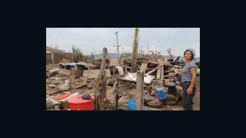 Flood in DPRK.